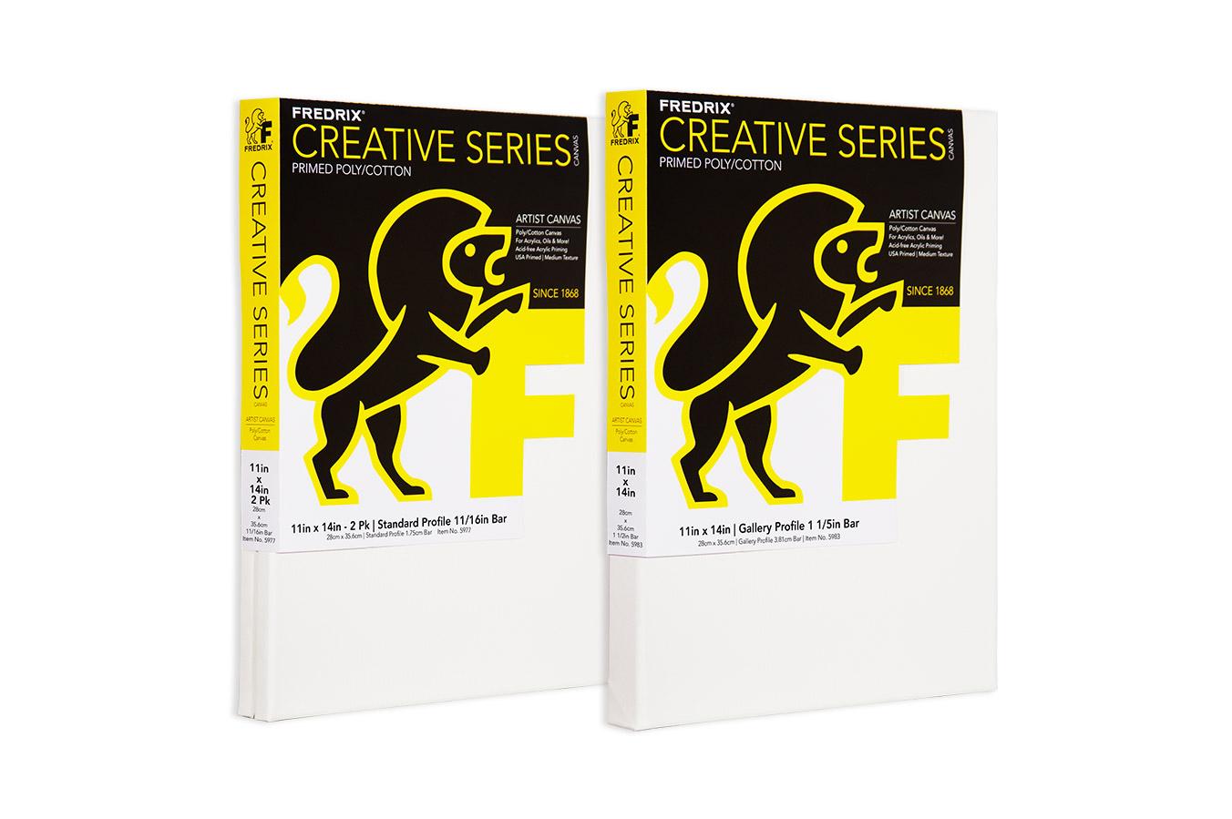 CREATIVE SERIES Acrylic Primed Poly/Cotton Canvas