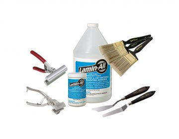 Accessories - Pliers, Palette Knives, Gesso Brushes, Paper, Lamin-All, Mounting Boards
